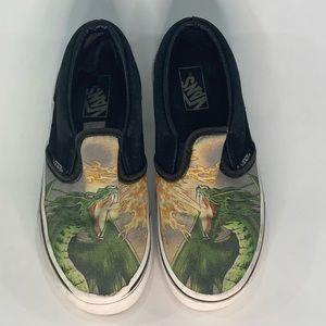 Vans Slip On Canvas Dragon Boys Shoes